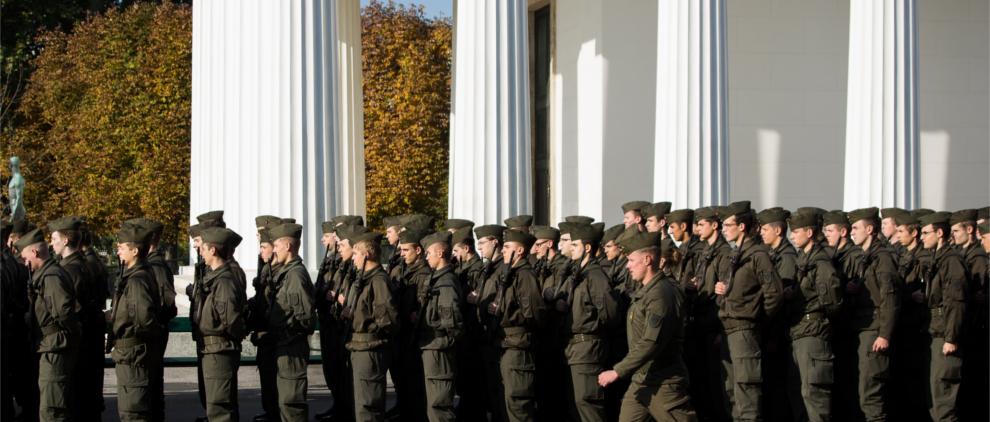 Bundesheer homepage slider